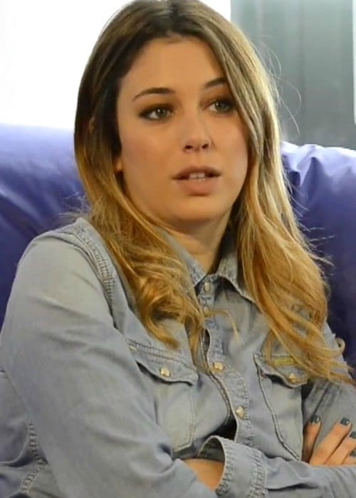 Blanca Suárez during an interview in February 2015