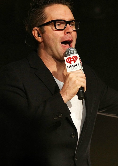 Bobby Bones at the iHeartRadio Theater in August 2014