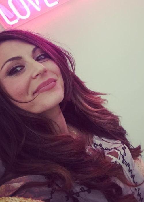 Cerina Vincent in a selfie in March 2017