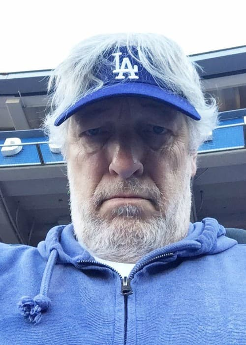 Clancy Brown in a selfie in March 2018