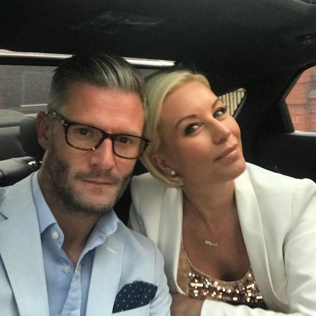 Denise van Outen going to HELLO magazine UK's 30th Celebration Party in May 2018