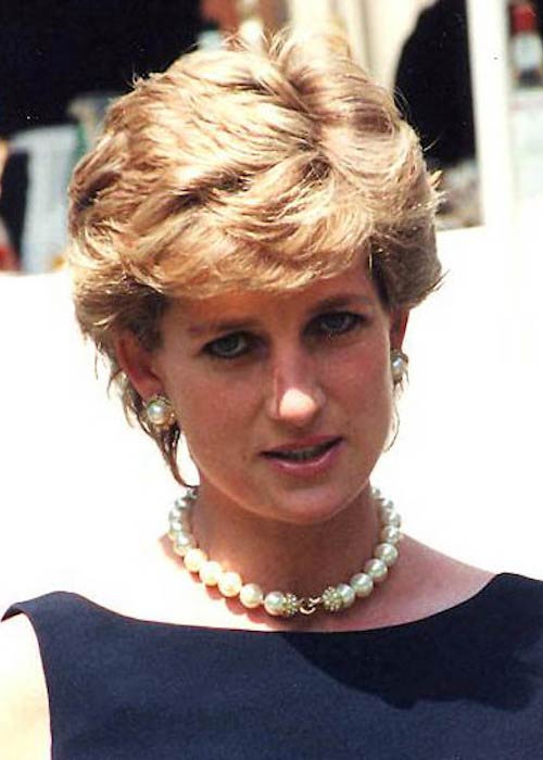 Diana Princess of Wales at The Leonardo Prize ceremony in 1995