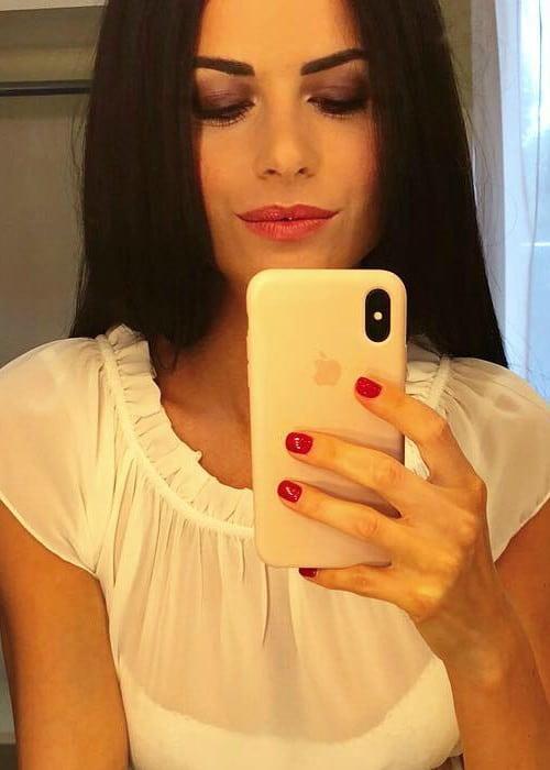 Eleonora Cortini as seen in June 2018