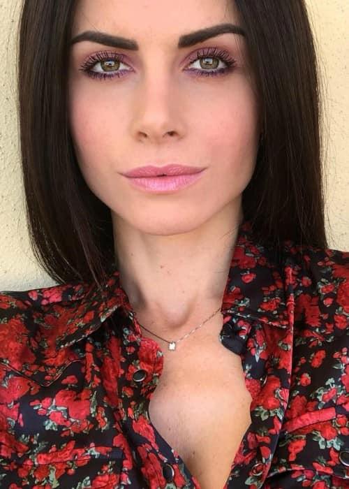 Eleonora Cortini in an Instagram post as seen in April 2018
