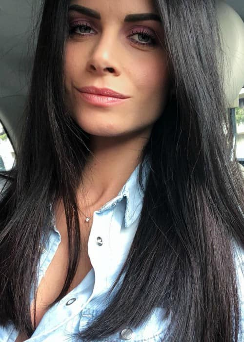 Eleonora Cortini in an Instagram selfie as seen in May 2018