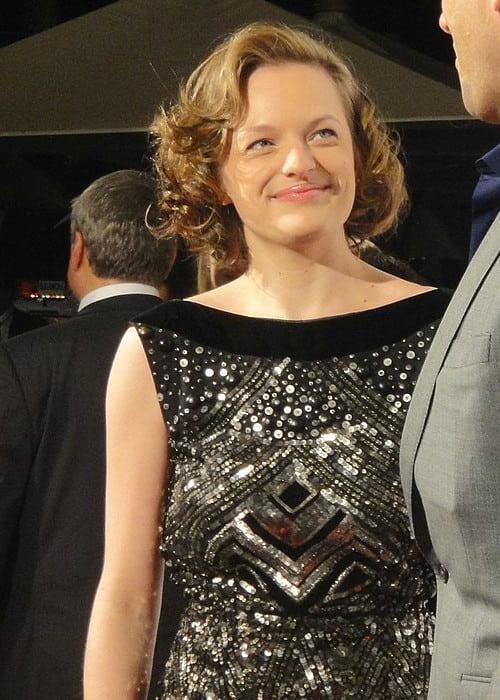 Elisabeth Moss as seen in October 2010