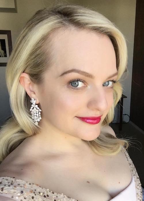Elisabeth Moss in an Instagram selfie in March 2018