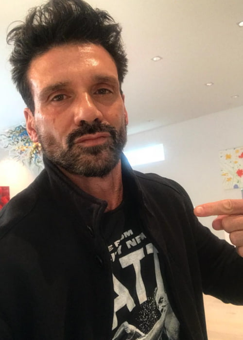 Frank Grillo in an Instagram selfie as seen in April 2018