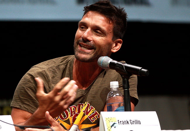 Frank Grillo speaking at the 2013 San Diego Comic Con