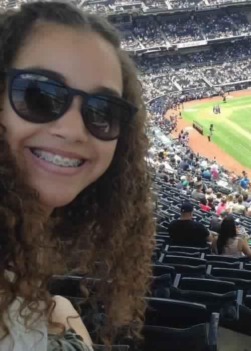 Gracie Haschak in a selfie as seen in July 2016