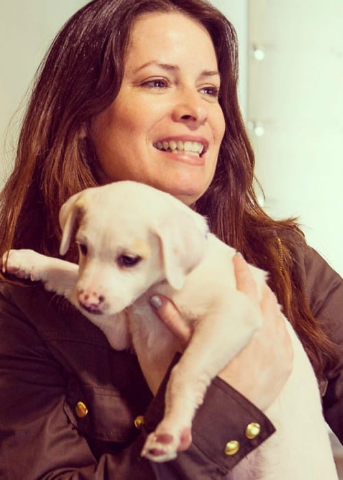 Holly Marie Combs promoting Best Friends Animal Society in an Instagram post in March 2017