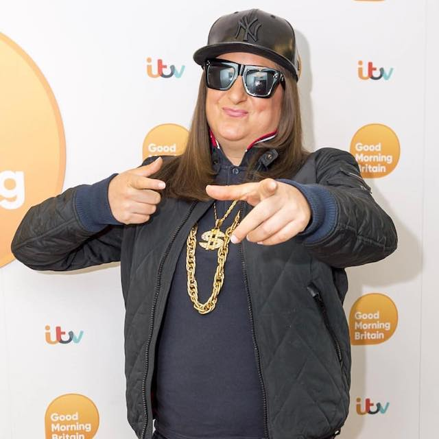 Honey G during her appearance on Good Morning Britain in January 2018