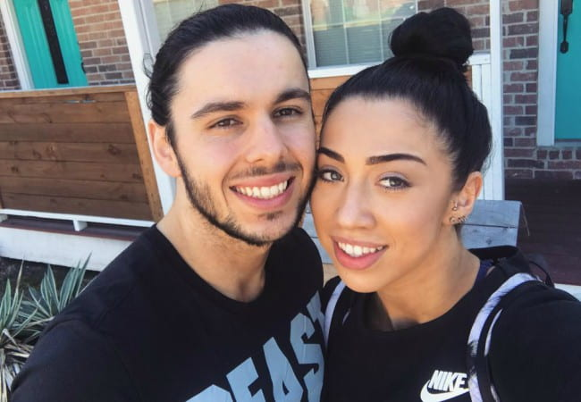 Indi Hartwell and Tome Filip as seen in October 2017