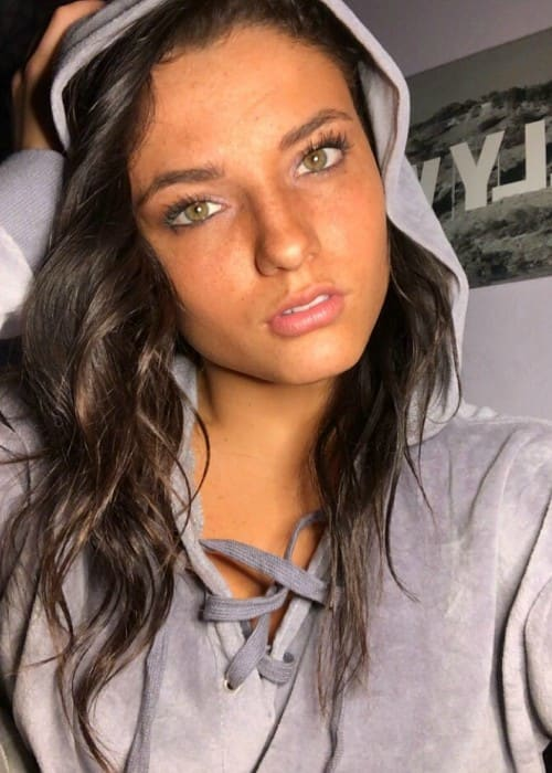 Jade Chynoweth in a selfie in January 2018