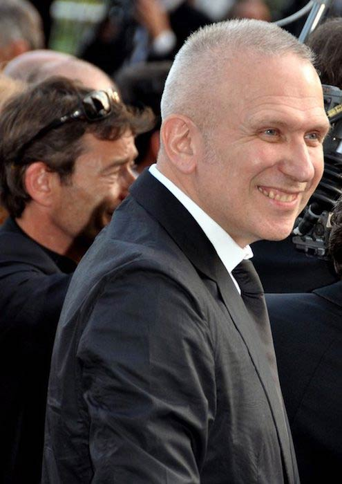 Jean-Paul Gaultier at Festival de Cannes in 2011