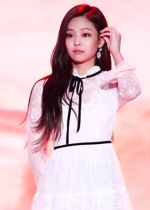 Jennie Kim at Pyeongchang Music Festa in October 2017