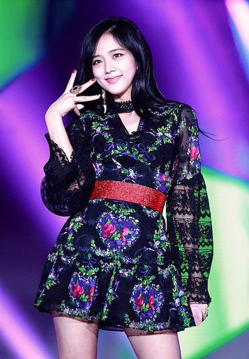 Jisoo at Korea Music Festival in October 2017