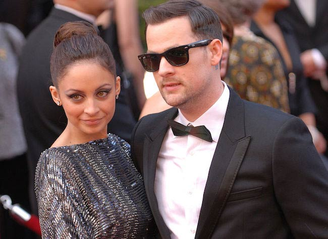 Joel Madden and Nicole Richie at the 82nd Academy Awards in 2010