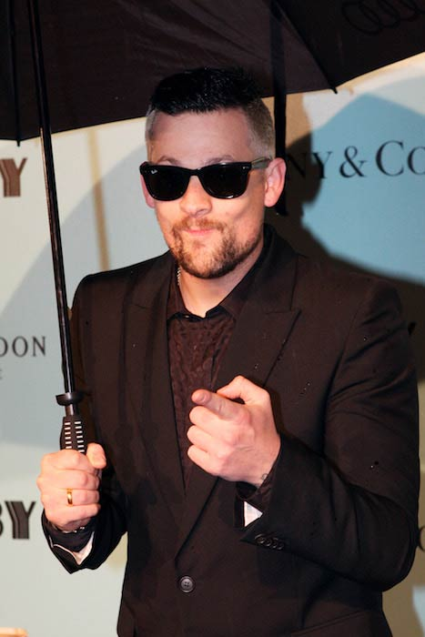 Joel Madden at The Great Gatsby Premiere in Sydney Australia in 2013