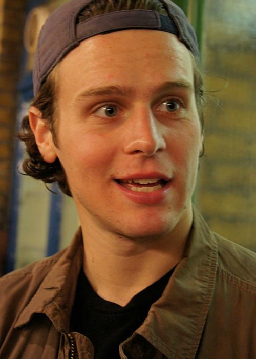 Jonathan Groff in London as seen in September 2010