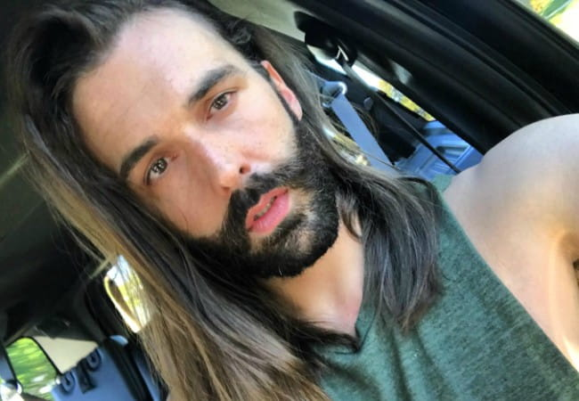 Jonathan Van Ness in a selfie as seen in April 2018
