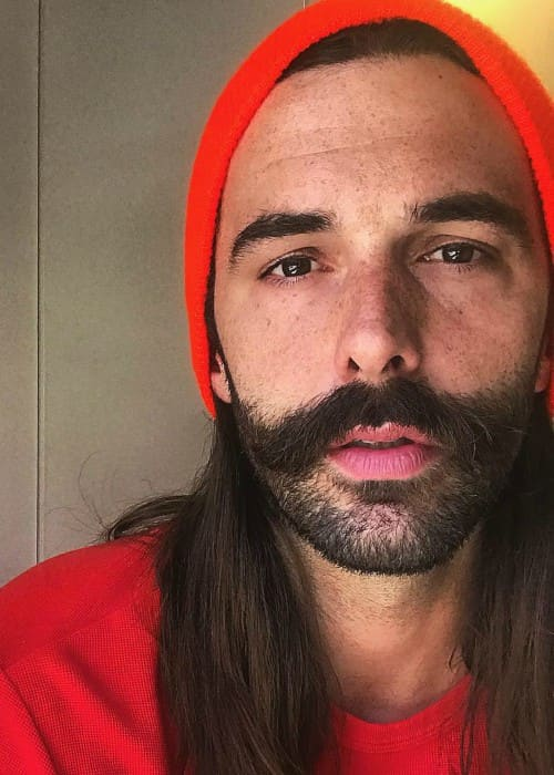 Jonathan Van Ness in an Instagram selfie as seen in June 2018