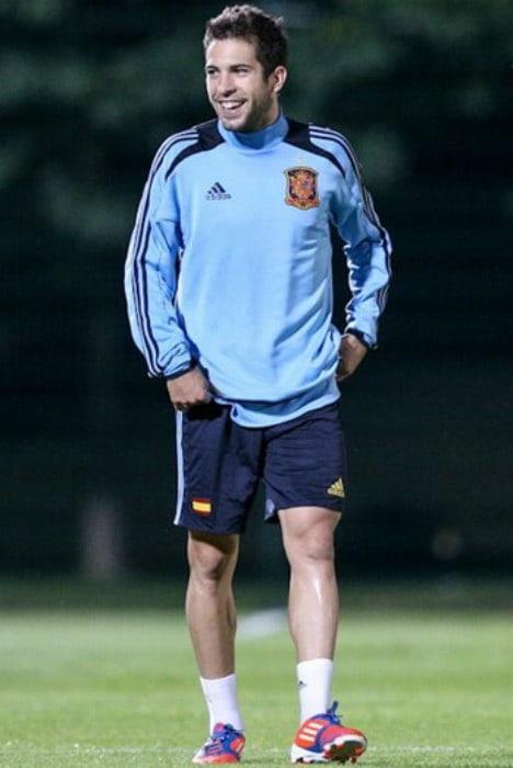 Jordi Alba as seen in July 2012