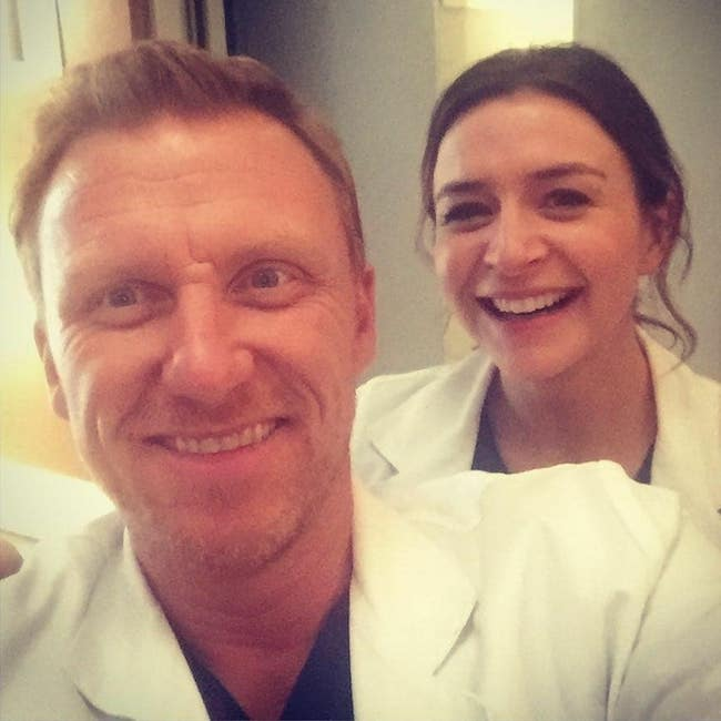 Kevin McKidd with Caterina Scorsone