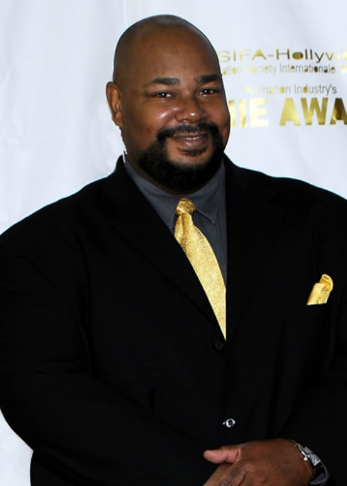 Kevin Michael Richardson at the 2006 Annie Awards red carpet