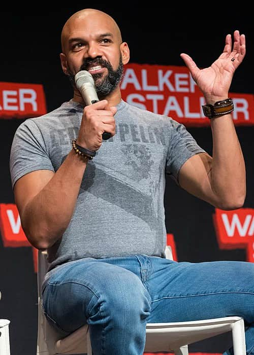 Khary Payton during Walker Stalker Con in March 2018