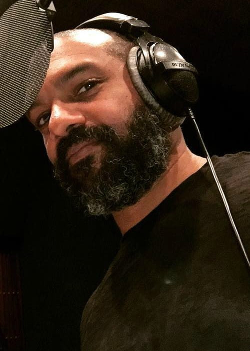 Khary Payton in an Instagram post as seen in December 2017