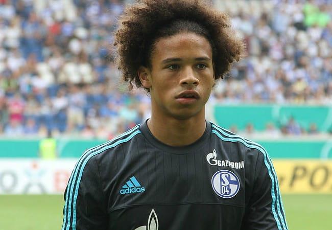 Leroy Sané as seen in August 2015
