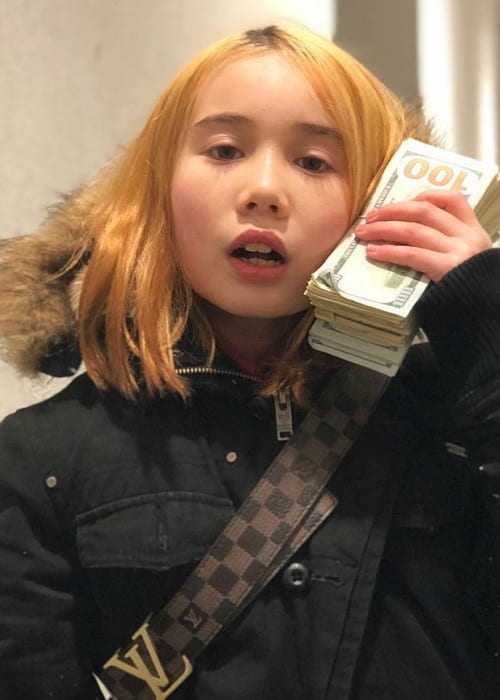 Lil Tay as seen in March 2018