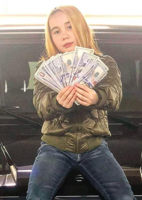 Lil Tay in an Instagram post in February 2018