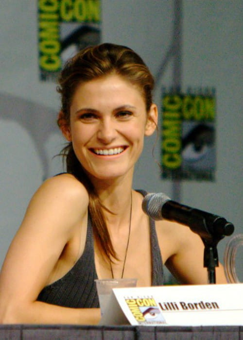 Lili Bordán at Comic-Con in July 2011