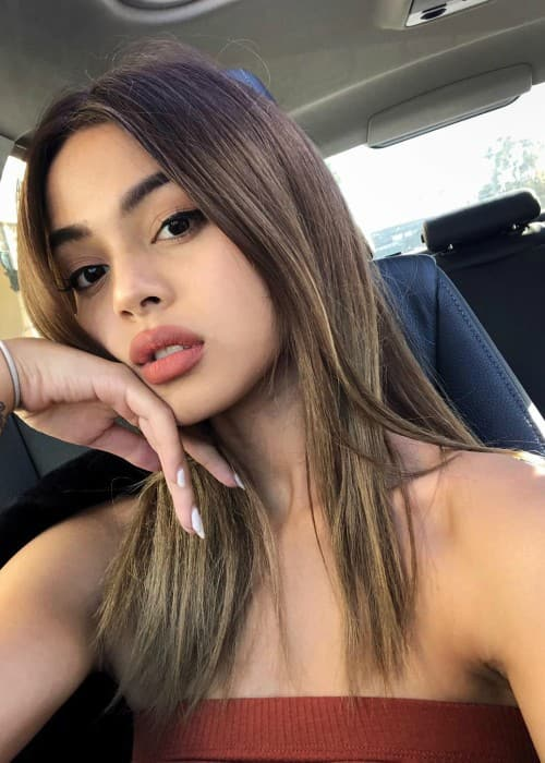 Lily Maymac in a selfie in June 2018