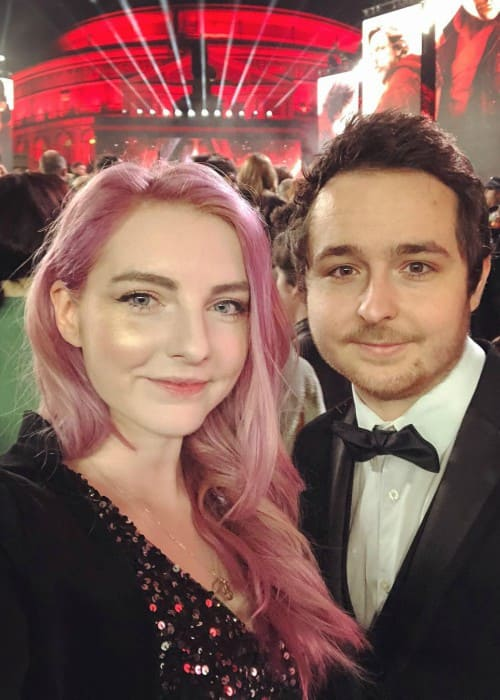 Lizzie LDShadowLady and Joel Smallishbeans as seen in December 2017