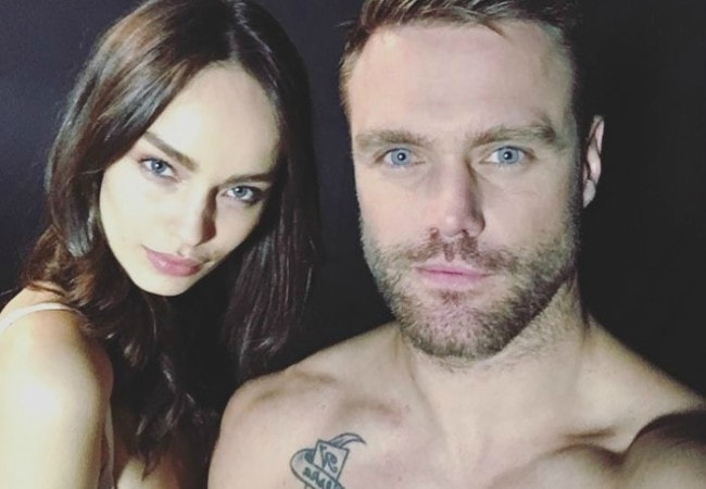 Luma Grothe and Nick Youngquest as seen in February 2017