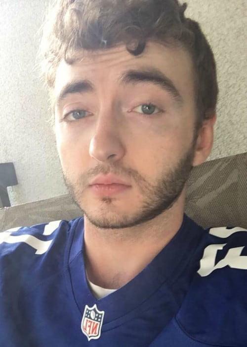 Michael Eric Reid in an Instagram selfie as seen in September 2017