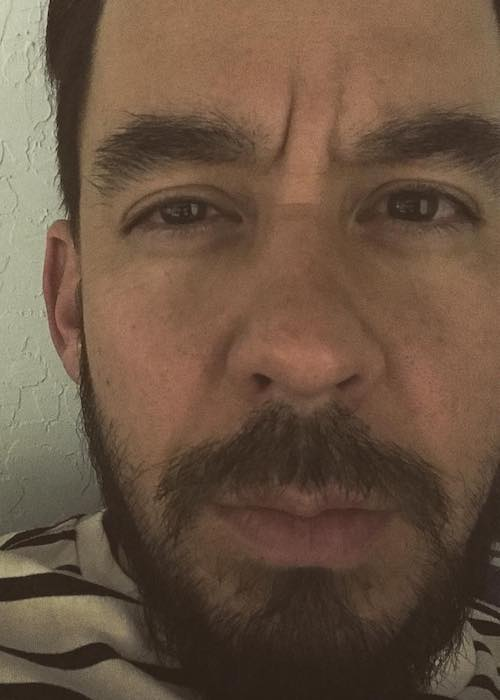 Mike Shinoda in an Instagram selfie in November 2017