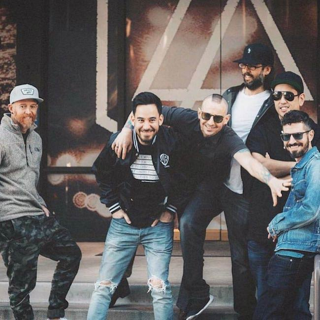 Mike Shinoda of other Linkin Park band members