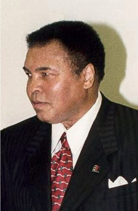 Muhammad ali in an old file photo