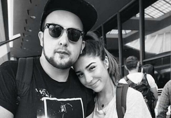 Noah Munck and Chloe Crampton as seen in April 2015