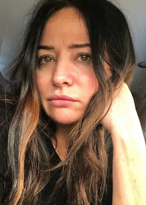 Pamela Adlon in a selfie in July 2019