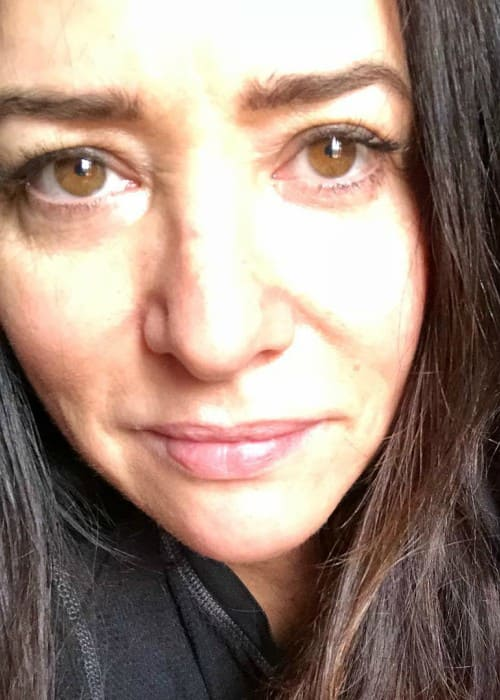 Pamela Adlon in an Instagram selfie in May 2018