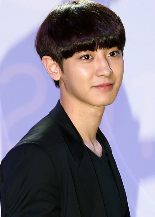 Park Chanyeol at the Fashion Kode in July 2014