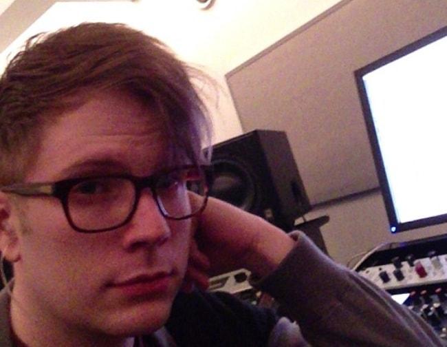 Patrick Stump in an Instagram selfie in May 2013
