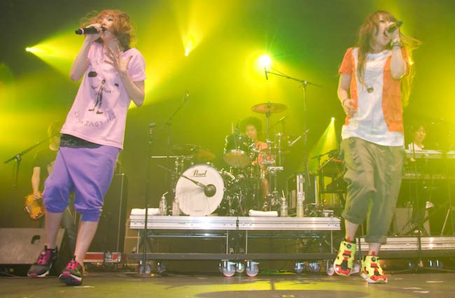 Puffy AmiYumi live at Japan Expo 2009