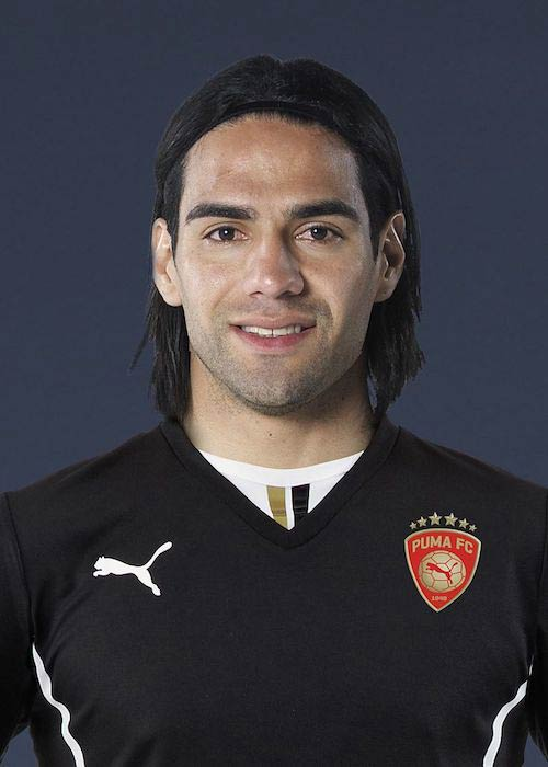 Radamel Falcao in a promotional picture for Puma AG in 2013