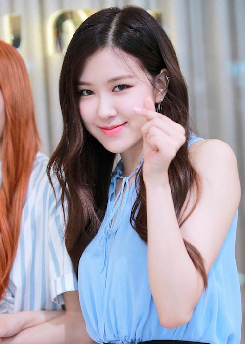 Rosé Park at Fan Sign Event in July 2017